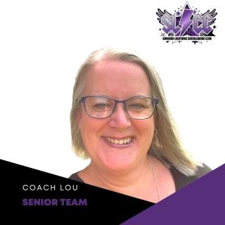 Lou - Lead coach for SLCC Senior team