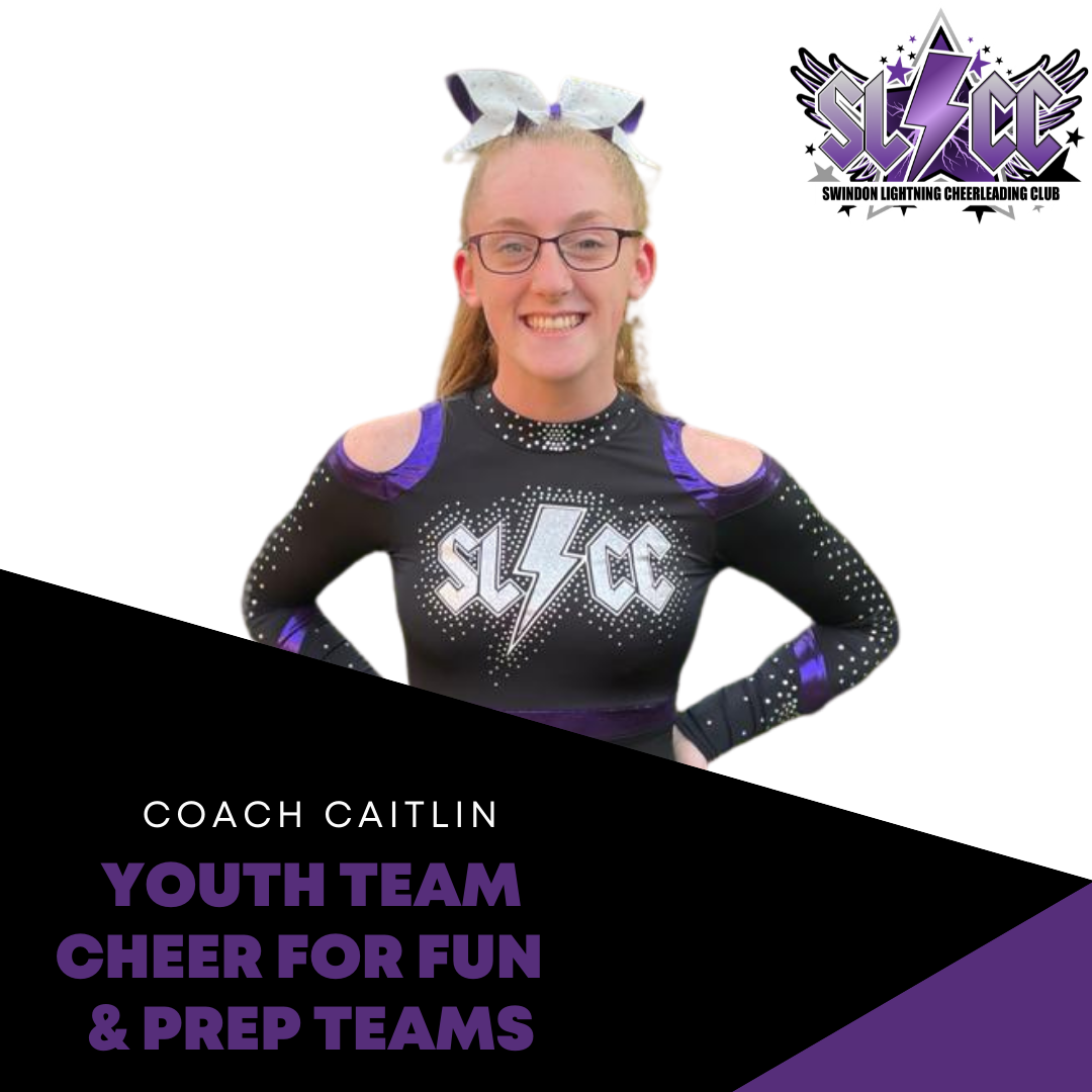 Caitlin - Coach for Youth, Cheer for Fun and Prep teams