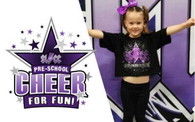 Preschool Cheer for Fun
